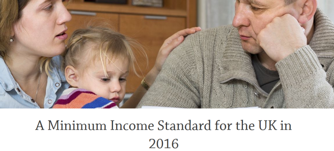 A minimum income standard