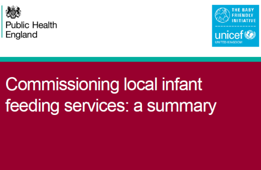 Commissioning local infant feeding services