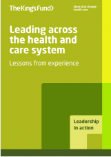 Leading across the health and care system