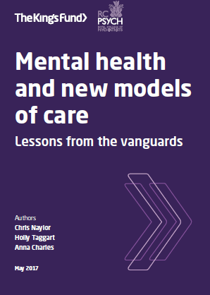 Mental health and new models of care